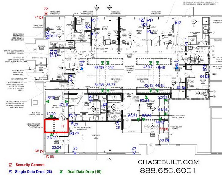 consult design build riverside network wiring cabling installer contractor data cat6 cat5e
